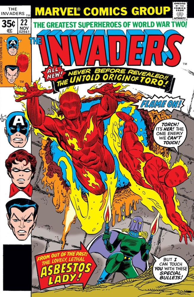 Invaders 22 cover