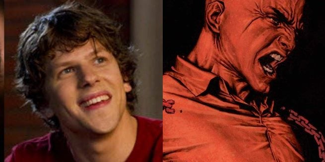 Jesse Eisenberg Says He Would Love To Play Lex Luthor