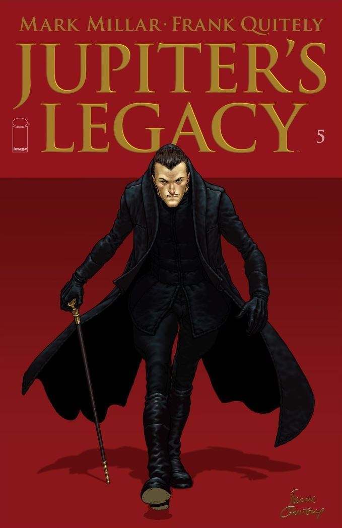 Jupiters Legacy 5 - Cover