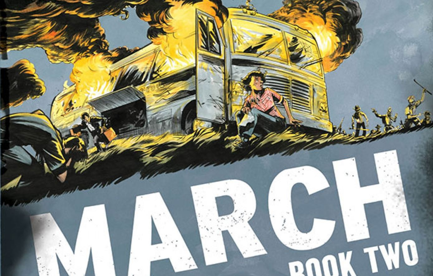 March Book Two - Cover