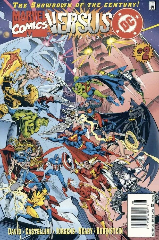 Marvel vs DC 2 cover