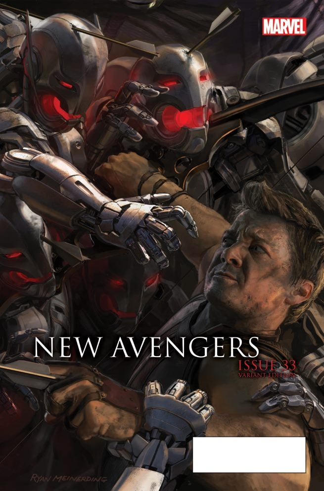 New Avengers 33 AU Movie Connecting Variant