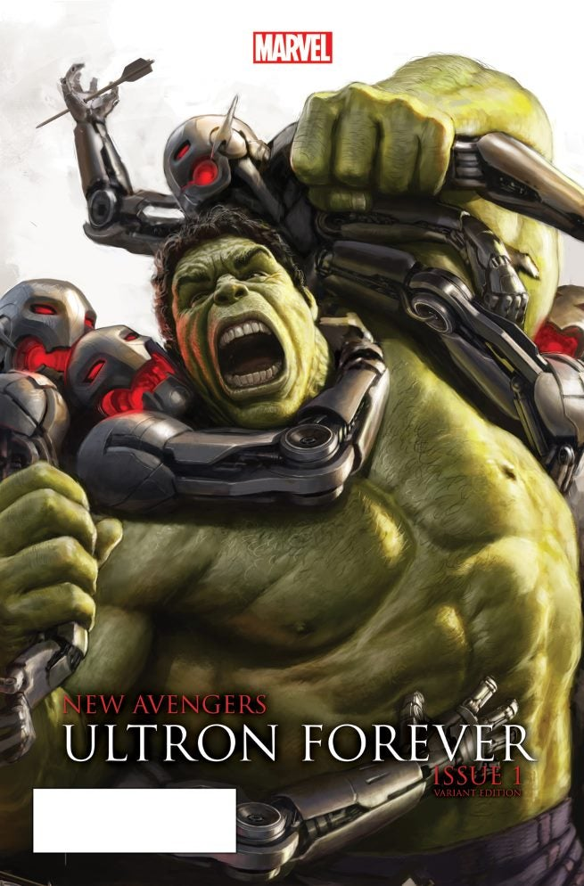 New Avengers Ultron Forever 1 AU Movie Connecting Variant A