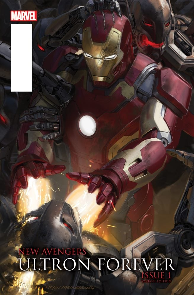 New Avengers Ultron Forever 1 AU Movie Connecting Variant B