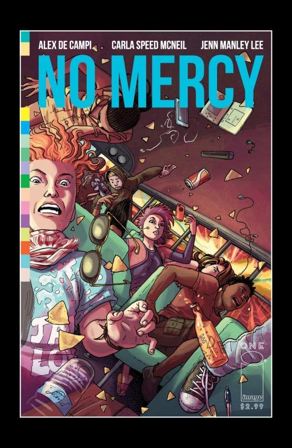 No Mercy - Cover