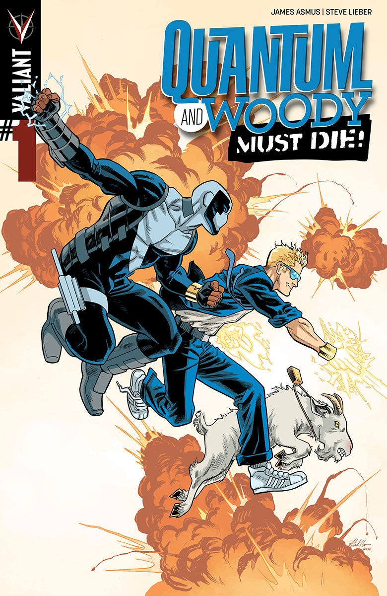 Quantum and Woody Must Die 1 - Cover