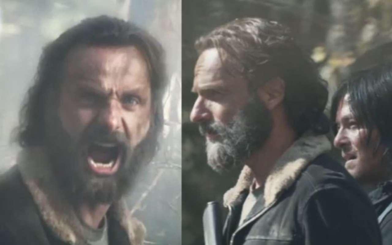 The Walking Deads Andrew Lincoln Norman Reedus Talk Beardgate On