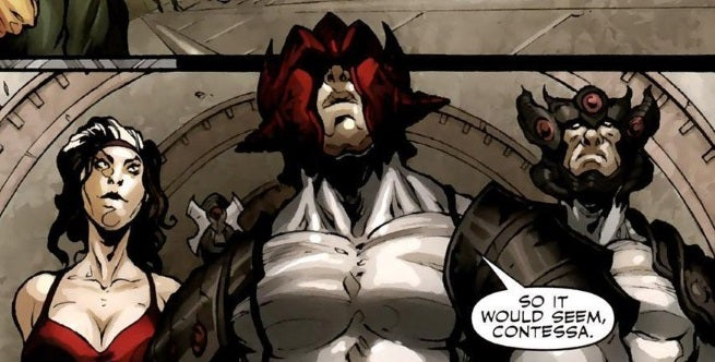 Secret Warriors Vol 1 16 page 10 Leviathan (Earth-616)