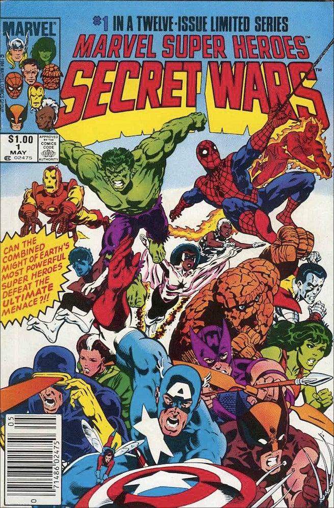 Secret Wars 1 cover