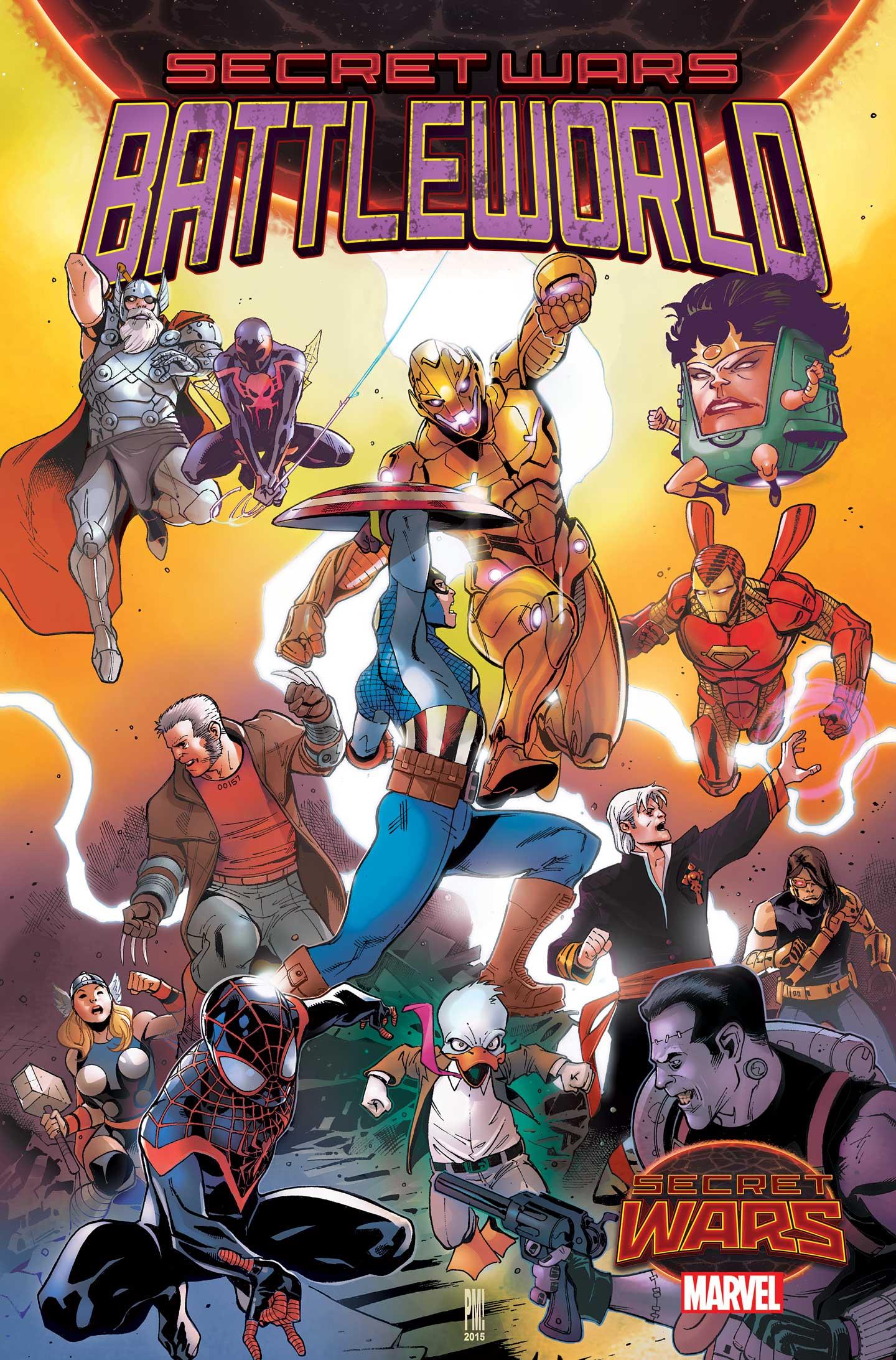 Secret Wars Battleworld 1 Cover