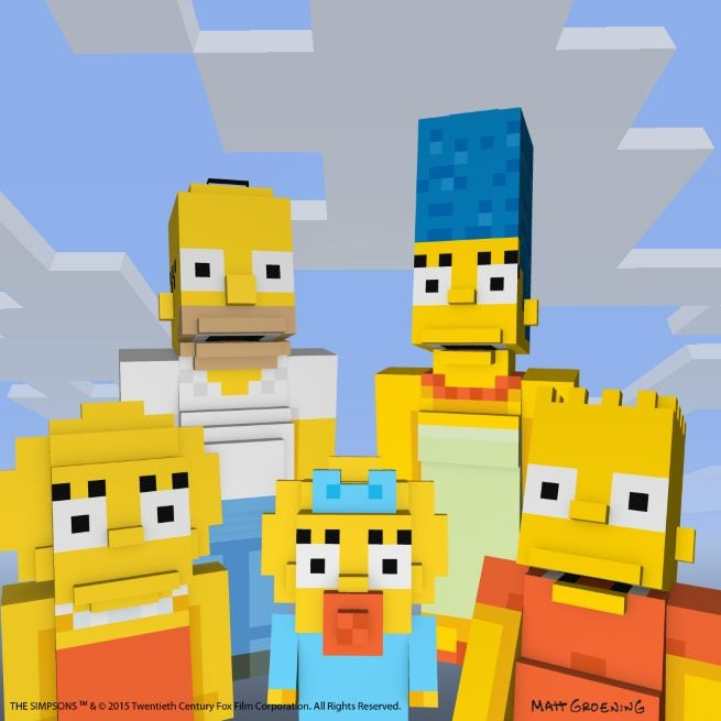 SkinPack The Simpsons Family 1080x1080 V6 No Sun B
