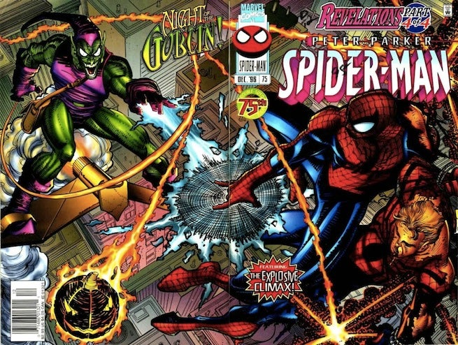 Spider-Man 75 cover
