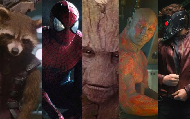 Spider-Man Guardians Of The Galaxy