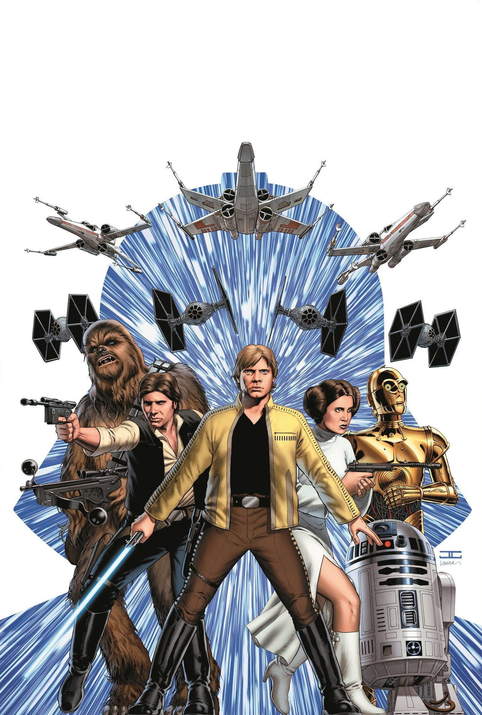 Star Wars 1 - Cassaday Cover