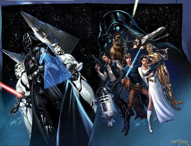 Star Wars Darth Vader #1 Variants (3)