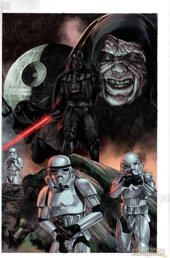 Star Wars Darth Vader #1 Variants (6)