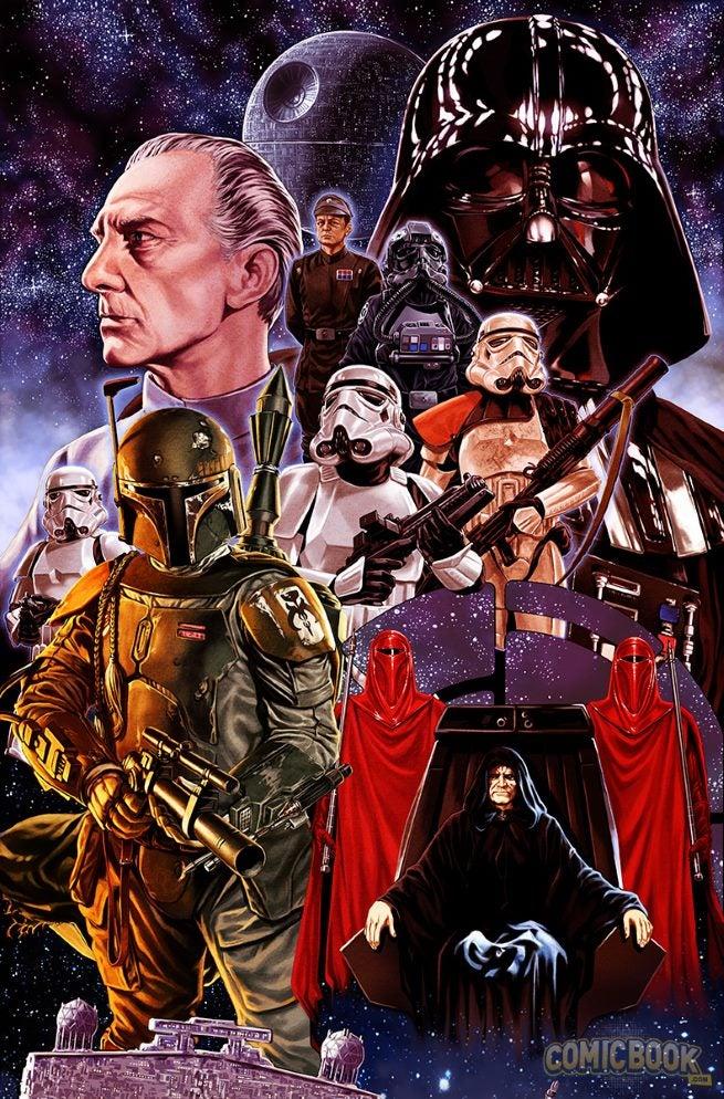 Star Wars Darth Vader #1 Variants (7)