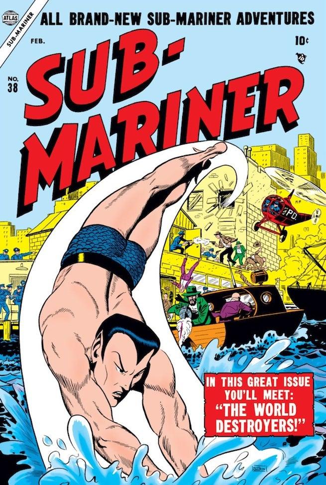 Sub Mariner 30 cover