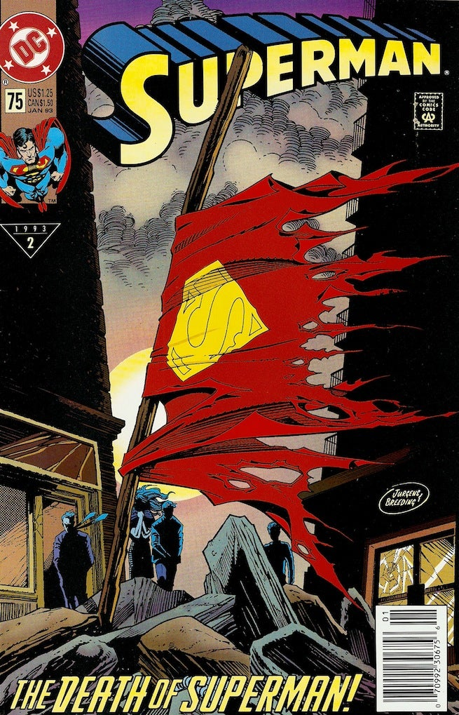 Superman 75 cover
