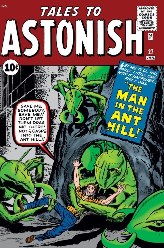 Tales to Astonish 27 cover
