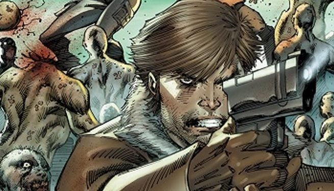 The Walking Dead Rob Liefeld top