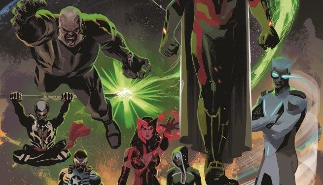 Uncanny Avengers 1 Cover