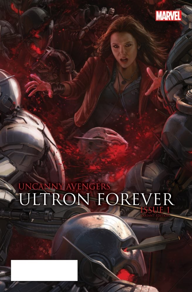 Uncanny Avengers Ultron Forever 1 AU Movie Connecting Variant A