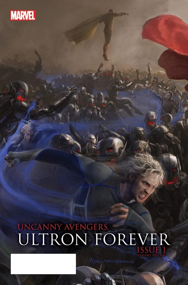 Uncanny Avengers Ultron Forever 1 AU Movie Connecting Variant B