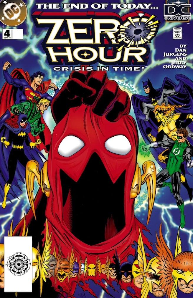 Zero Hour 4 cover