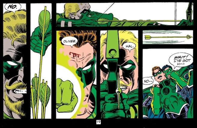 Zero Hour Green Arrow