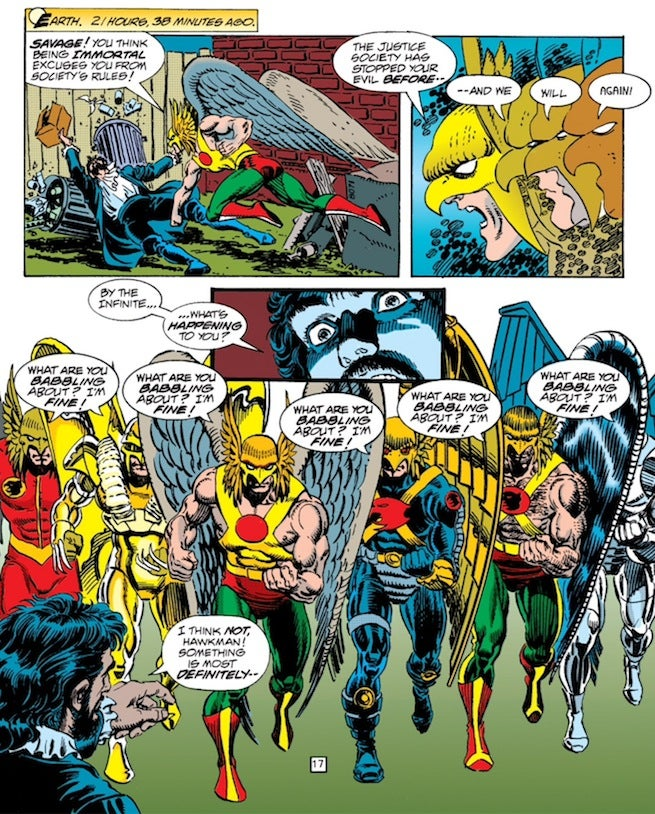 Zero Hour Hawkman