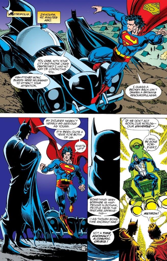 Zero Hour Superman Batman