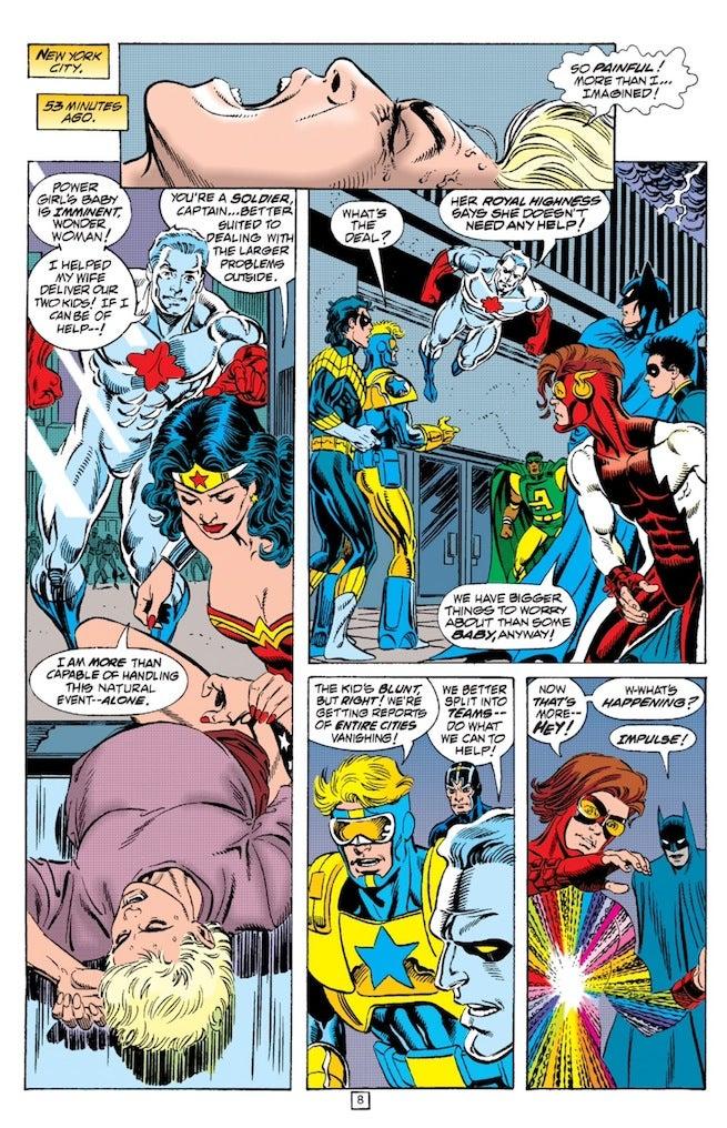 Zero Hour Wonder Woman