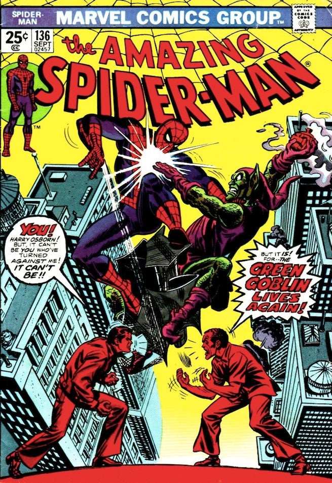 Amazing Spider-Man 136 cover
