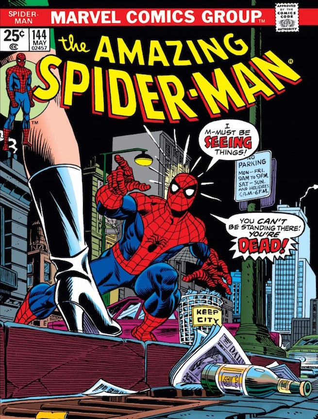 Amazing Spider-Man 144 cover