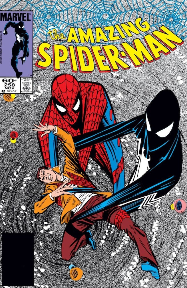 Amazing Spider-Man 258 cover