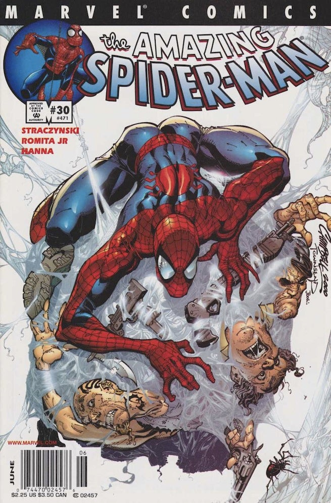 Amazing Spider-Man 30 cover