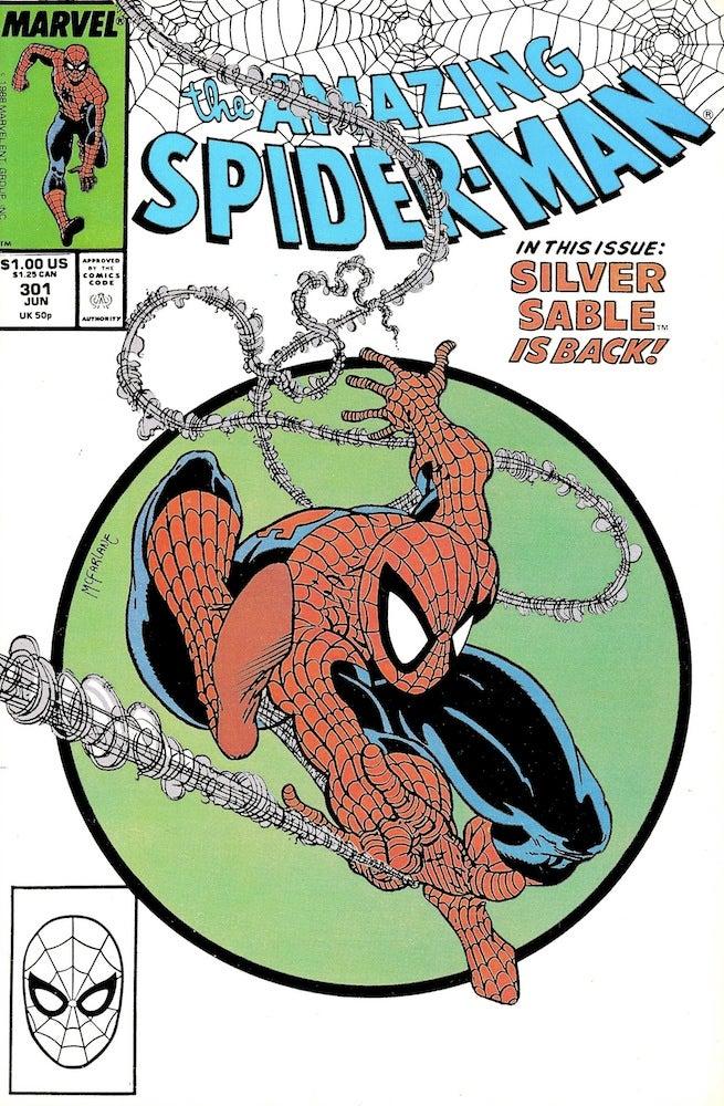 Amazing Spider-Man 301 cover