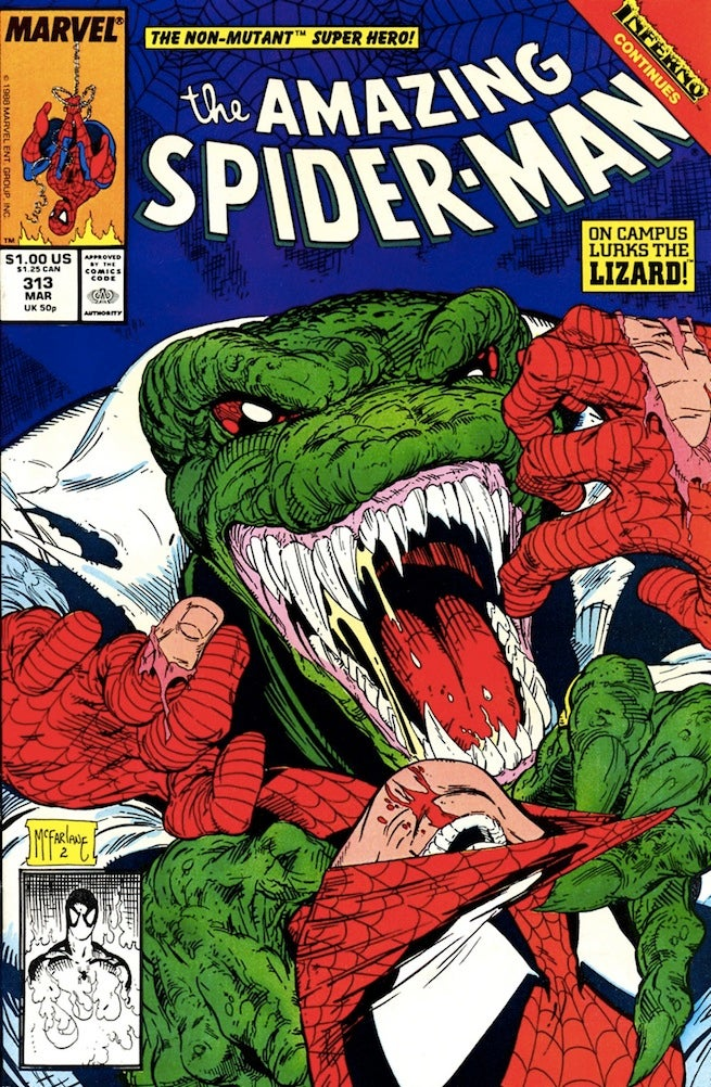 Amazing Spider-Man 313 cover