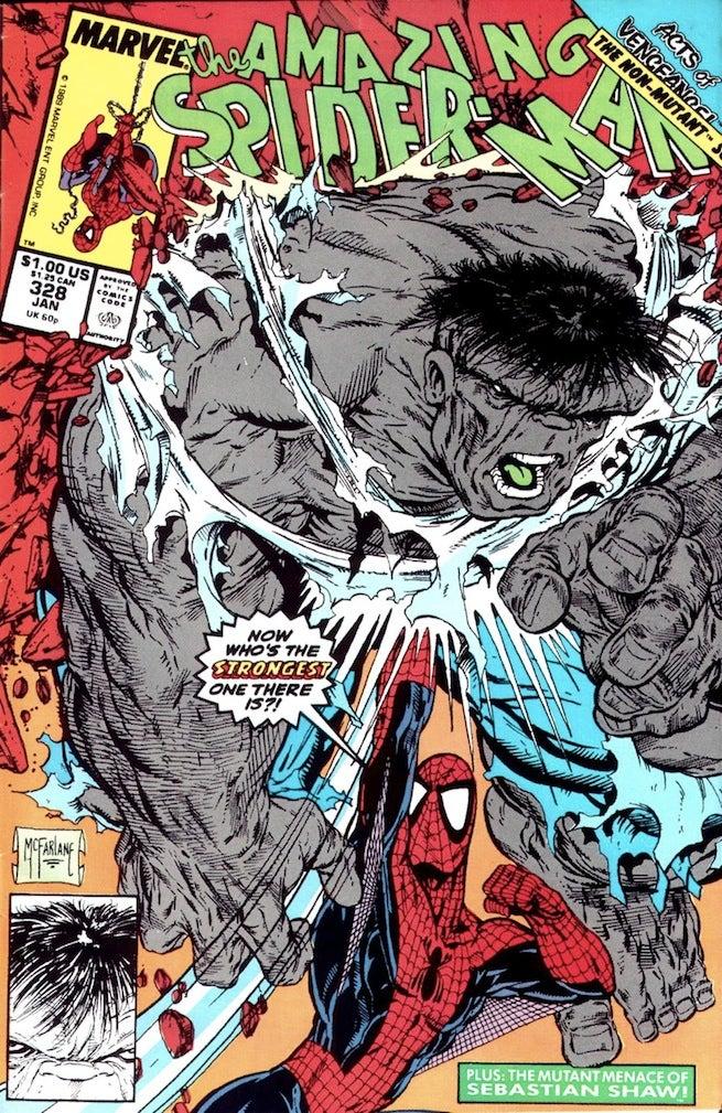 Amazing Spider-Man 328 cover