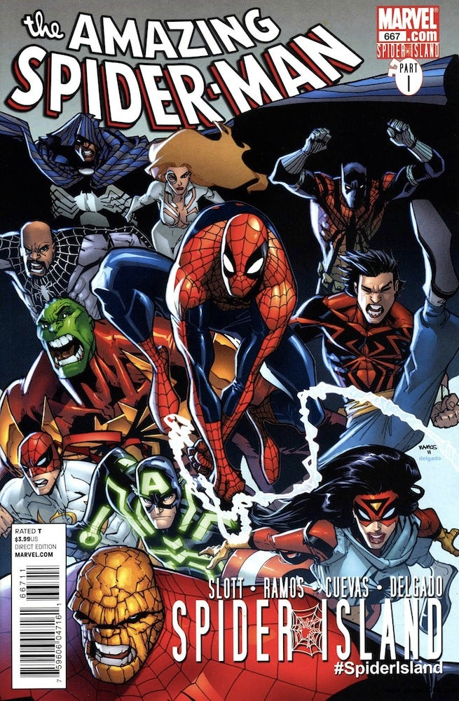 Amazing Spider-Man 667 cover