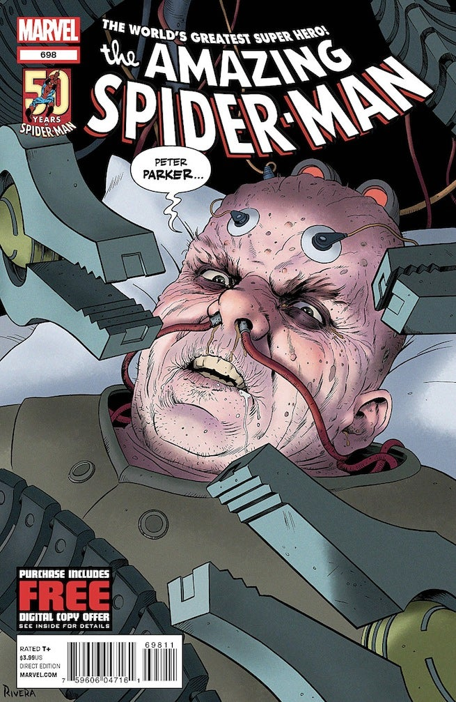 Amazing Spider-Man 698 cover