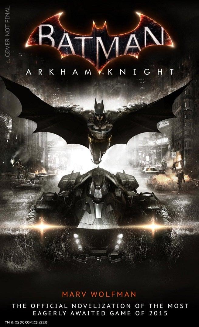 arkham knight novelization