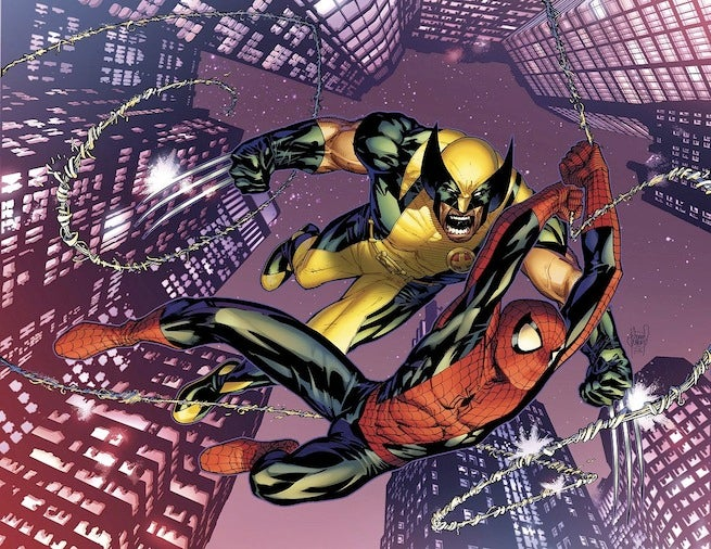 Astonishing Spider-Man Wolverine cover
