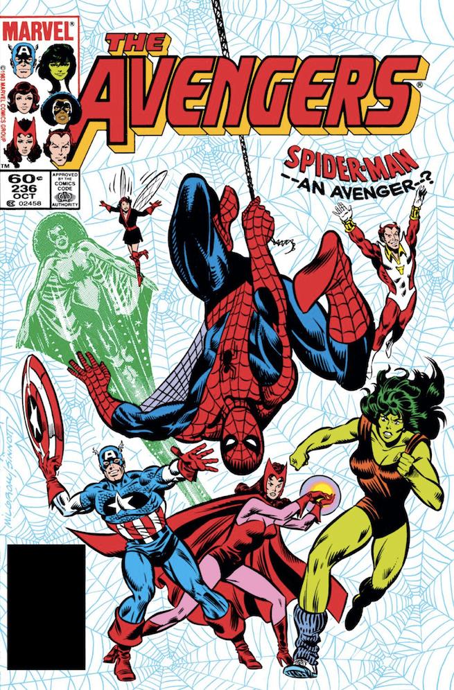 Avengers 236 cover
