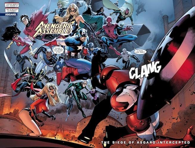Avengers Siege