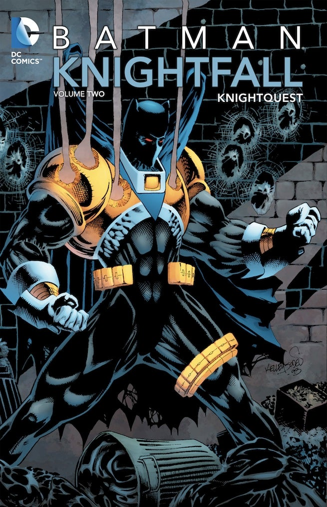 Batman Knightfall TPB cover