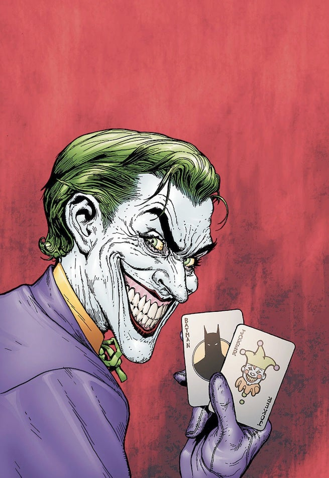 Batman Man Who Laughs cover