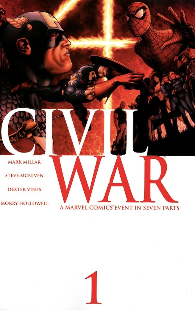 Civil War 1 cover