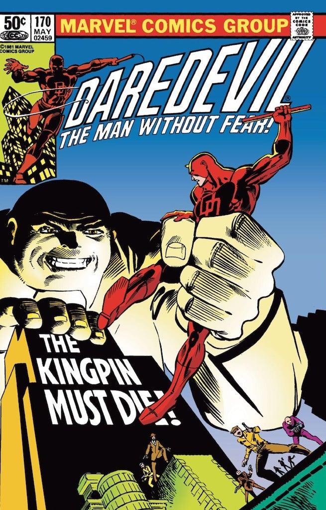 Daredevil 170 cover